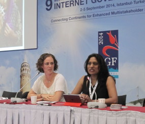 Iffat Gill of ChunriChoupaal at IGF 2014